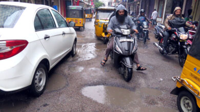 Photo of City roads battered after two days of incessant rain