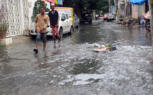 Drainage overflow troubles residents of Nizam Colony