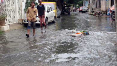 Photo of Drainage overflow troubles residents of Nizam Colony