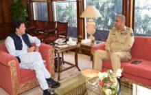 J&K discussed during meeting between Pak PM, CoAS