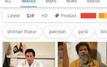 Google shows Pak PM Imran Khan on searching 'bhikari'