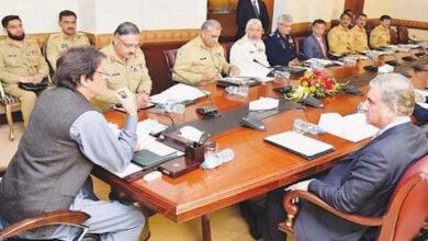 Photo of Imran Khan chairs NSC meet over regional security