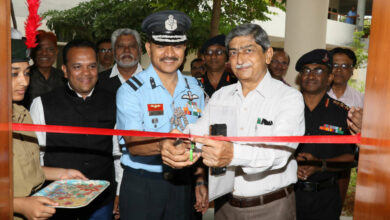 Photo of NCC Unit at MANUU inaugurated