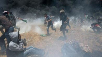 Photo of Gaza: 33 Palestinians injured in clashes with Israeli military
