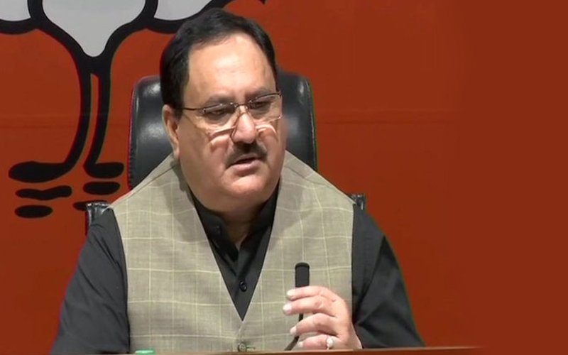 Nadda, Rajnath campaign for BJP candidates in Jharkhand