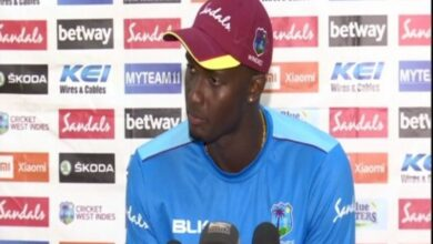 Photo of We have not been able to step up as top-order, says Jason Holder