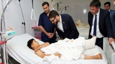 Photo of Afghan NSA visits Kabul terror attack victims