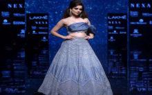 LFW: Kangana Ranaut dazzles in cobalt blue lehenga