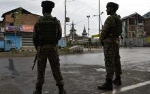 Kashmiris queue at helpline centre for 2-minute phone access