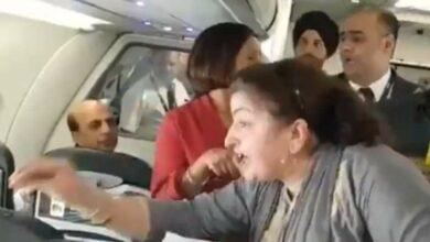 Photo of Kashmiri woman shares ordeal with Rahul Gandhi on flight