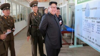 Photo of Kim Jong-un oversees launch of 'new weapon': State media