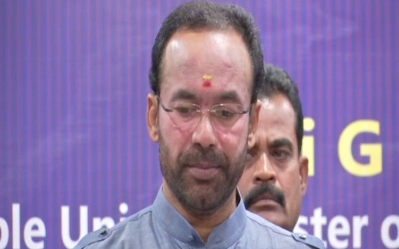 Kishan Reddy comments on speculation of UT Status to Hyderabad