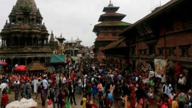 Photo of Janmashtami in Nepal: Devotees throng magnificent Krishna Temple