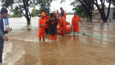 Photo of Maharashtra floods: Five teams of NDRF airlifted to Pune