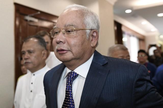 Malaysia's former prime minister Najib Razak