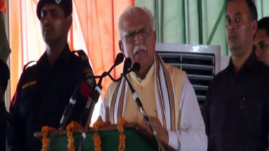 Photo of Haryana CM's statement on Kashmiri girls sparks controversy