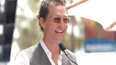 Photo of Matthew McConaughey is now a professor!
