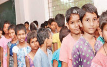 Hostel cuts 150 girl students hair to save water
