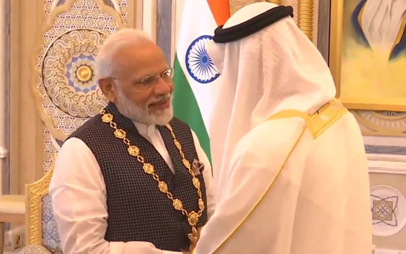 PM Modi conferred UAE's highest civilian honour