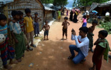 Rohingya youths share their stories on social media