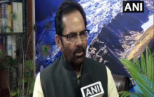 Mukhtar Abbas Naqvi speaks on NRC