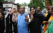 Muslim women celebration