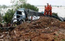 65 killed in Myanmar's landslide: UN