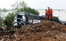 Myanmar: Monsoons trigger landslides, killing 51 people