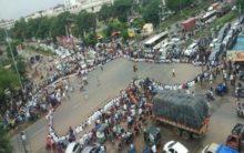 NMC Bill: Police detains doctors during protest in Vijayawada