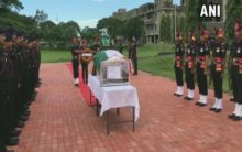 West Bengal: Army officials pay tribute to Naik Rajib Thapa