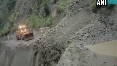 Photo of Landslides block roads in Himachal Pradesh