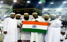Man waved tricolor in front of Kaaba during hajj