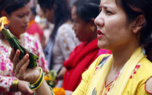 Devotees flock to Pashupatinath Temple on Shravan's last Monday