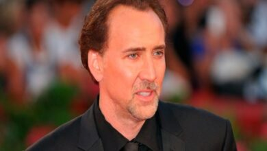 Photo of Nicolas Cage turns singer for 'A Score to Settle'