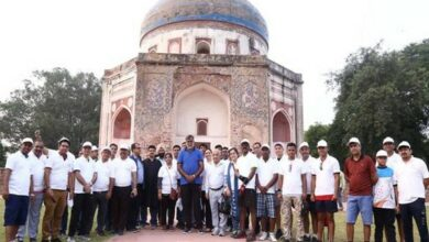 Photo of Nila Gumbad at Humayun Tomb Complex opened for general public