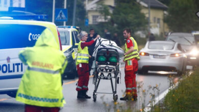 Photo of Norway mosque shooting: 65-year-old hailed as hero