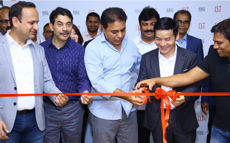 OnePlus Opens R&D Facility in Hyderabad