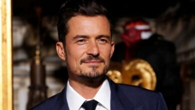 "Photo of Orlando Bloom says he doesn't want to be ""divorced again"""