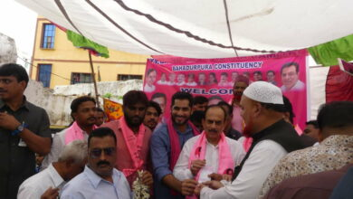 Photo of TRS Membership drive in Old city