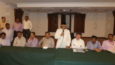 Photo of Moharram preparatory meeting conducted at Darussalam