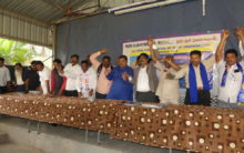 Protest meet against harassment of SC/ST/OBC/Minority officers