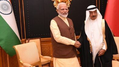 Photo of PM Modi in Bahrain, 3 MoUs signed