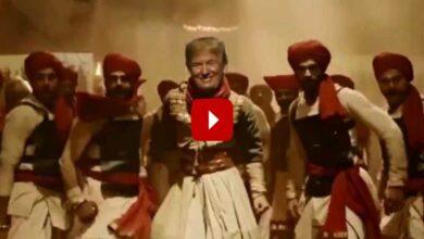 Photo of Peshwa Trump dances to Bajirao Mastani's song, video goes viral