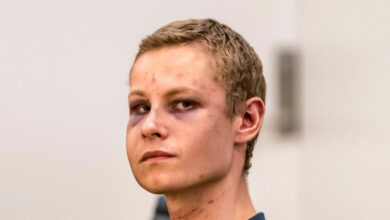 Photo of Norway mosque shooting suspect 'admits' crimes: Police