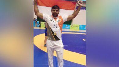 Photo of Haryana ASI wins gold in wrestling at WPFG