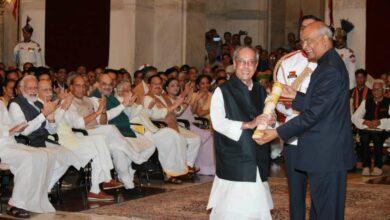 Photo of Pranab Mukherjee Receives Bharat Ratna