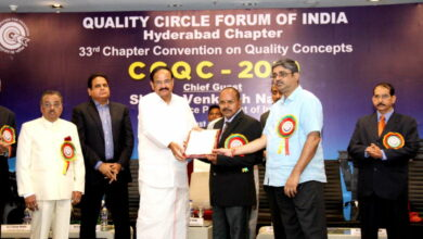 Photo of TSRTC receives best organization Award