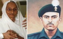 Rasoolan Bibi the widow of Indo-Pak war hero Abdul Hamid dies