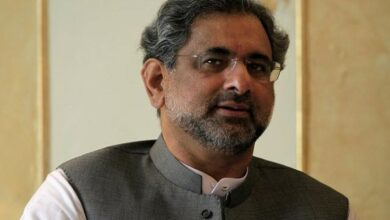Photo of Ex-Pak PM Shahid Khaqan Abbasi's remand extended till Aug 29