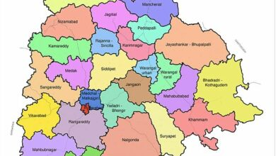 Photo of Telangana: 460 villages and 2 towns go missing